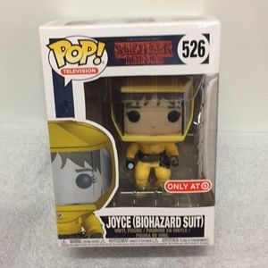 Funko pop stranger things Joyce biohazard suit